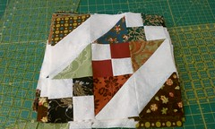 Charm pack quilt along completed blocks