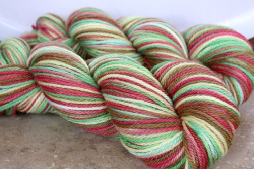~Deck the Halls~ Soyeux BFL <br> <b>New Colourway