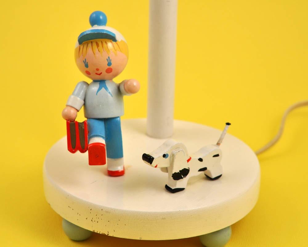 Vintage Irmi Nursery Lamp - Nursery Plastics - Germany