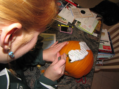 Making of The Jersey Pumpkin 1