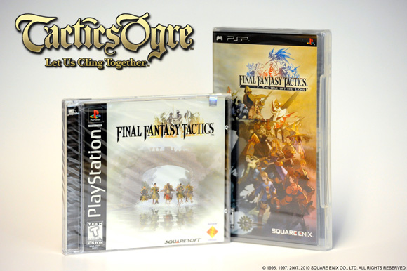 Tactics Ogre contest goodies