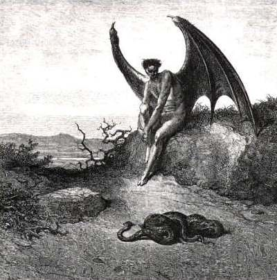 Lucifer, the fallen angel