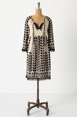 Anna Sui Black Walnut Dress