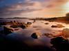 Ear-ly One Maw-or-ning (BoboftheGlen) Tags: sea cloud mountains seaweed island bay coast scotland pier harbour britain argyll united small great kingdom hills jura shore isles craighouse the4elements