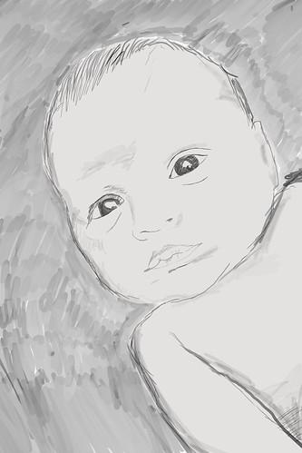 baby-harry-sketch