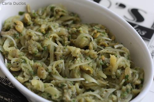 Salada ou Antepasto de Berinjela