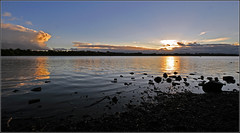 Last Light at Pennington Flash 6/365 (davep90) Tags: light sunset nature night nikon flash reserve sigma lancashire 365 leigh 1020 pennington wigan d90 davep90