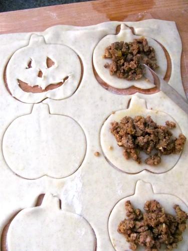 Halloween Pumpkin Puffs