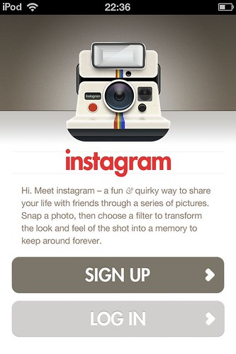 instagram、はじめました。