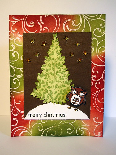 Merry Christmas Owl