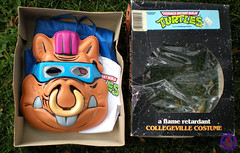 "Collegeville Costumes :: TEENAGE MUTANT NINJA TURTLES { OPPOSITION FORCES! } : ""BEBOP"" TINY TOT Costume with Mask iv (( 1990 ))"