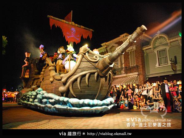 【香港旅遊】跟著via玩香港(2)~迪士尼萬聖節夜間遊行超精彩!19