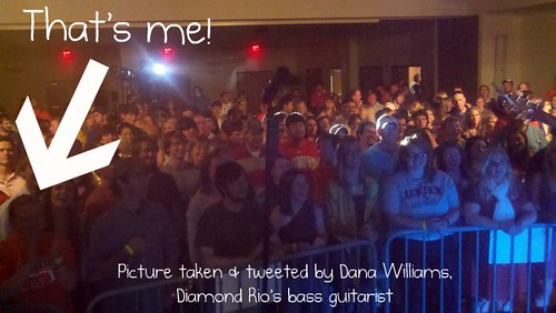 At the Diamond Rio Concert