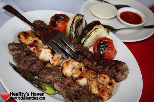 Mixed Kebabs Hossein