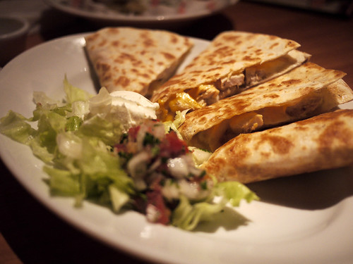 Hooters Quesadilla