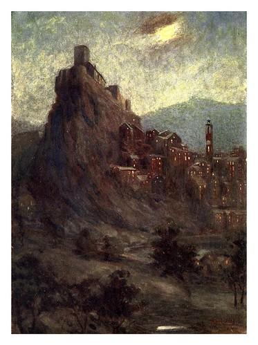 020- La Ciudadela en Corté-Corsica-1909-Edwin A. Norbury