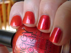 Piggy Polish Copper Harbor (PuckLizardRN) Tags: red orange copper nailpolish shimmer copperharbor piggypolish