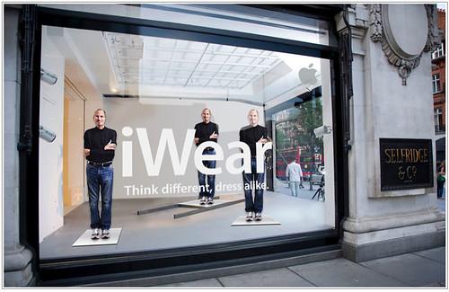 Apple iWear inspired by Steve Jobs