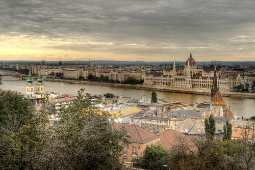View of Budapest. Hungary. Vista de Budapest. Hungría