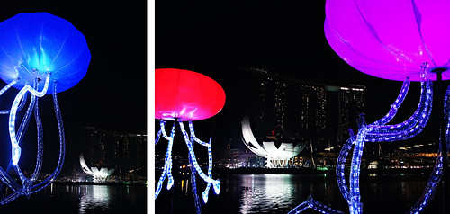 Giant squids attack Marina Bay Sands!