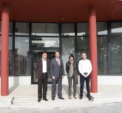 Visita al Centro Tecnolgico del Mueble y la Madera, en Yecla (Murcia). (Mara Gonzlez Veracruz) Tags: centro antonio mara mueble gonzlez yecla psoe villaescusa tecnolgico psrm
