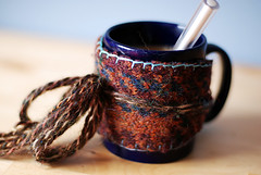 wool felt mug sleeve