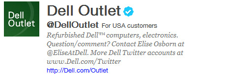 "dell outlet - ""offering relevant information that people are interested in is key."""