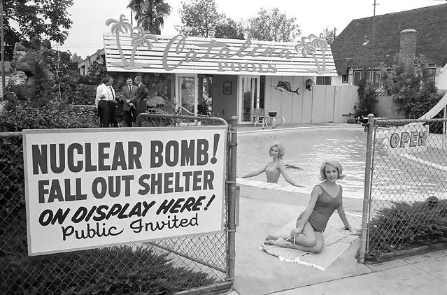 nuclear retro 1950s falloutshelter civildefense thermonuclear atomic cookout coldwar bombshelter atomicbomb 1951 fallout icbm departmentofenergy ww3 worldwar3 manhattenproject atomicwar atomictest hydrogenbomb yuccaflats thermonuclearwar kiloton atomicenergycommisssion