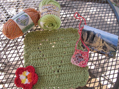Outgoing dishcloth swap