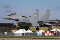 indianarrival7 (MichaelHind) Tags: force indian air indra su30 waddington sukhoi mki danush