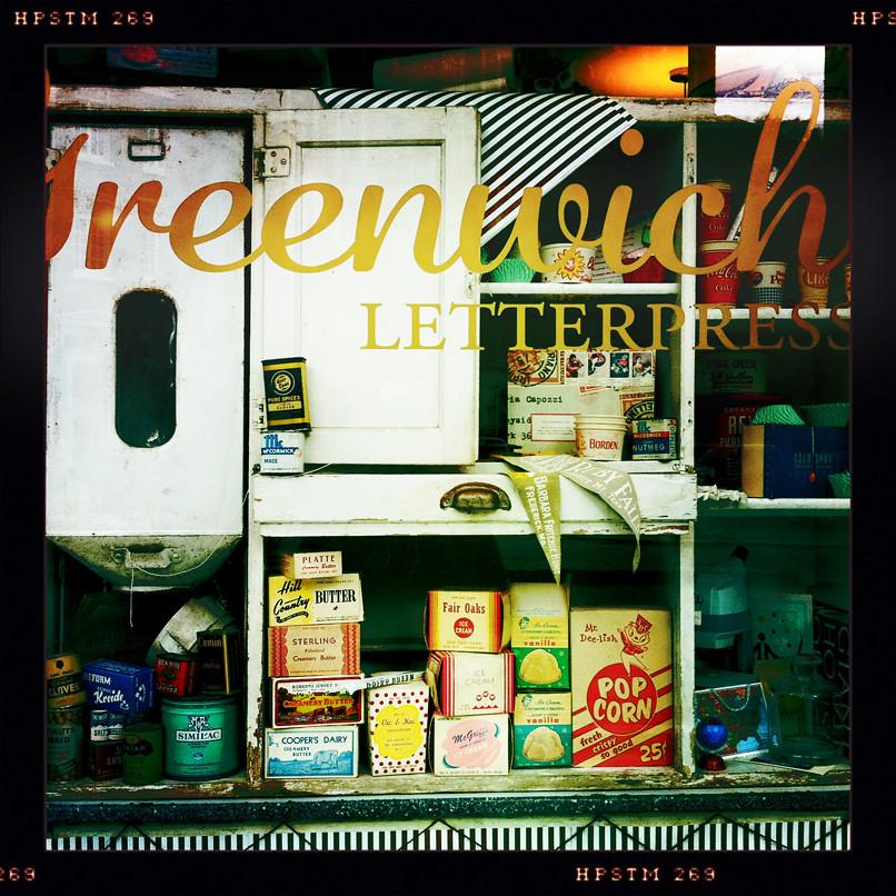 greenwich letter press