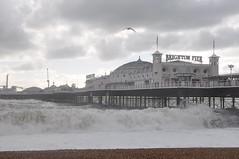brighton_waves_012 (Peter-Williams) Tags: uk november sea sky storm beach water sussex pier brighton wave flume seafront groyne breaker 2010 breakwater