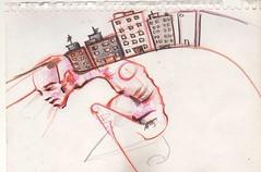 sostén (el agustin) Tags: momento boceto garabato papelito