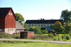 Some buildings at Ängsbacka