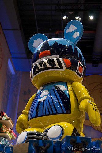 5' Tall Taxi Vinylmation