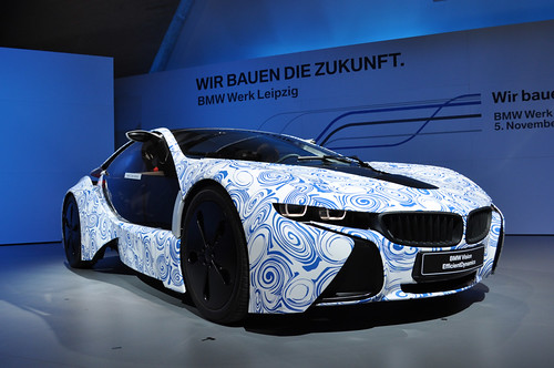BMW Vision EfficientDynamics Technologieträger