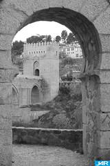 Puente de San Martin (Toledo) Spain - San Martin Bridge (J4R) Tags: de puente san martin mywinners