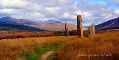 standing stones at machrie moor (gmj49) Tags: nature scotland standingstones sony north 100 isle arran gmt ayrshire gmj a350 mywinners platinumphoto mygearandme