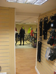 A view from the new shop (Speeds Cycles, Bromsgrove) Tags: speedscycles