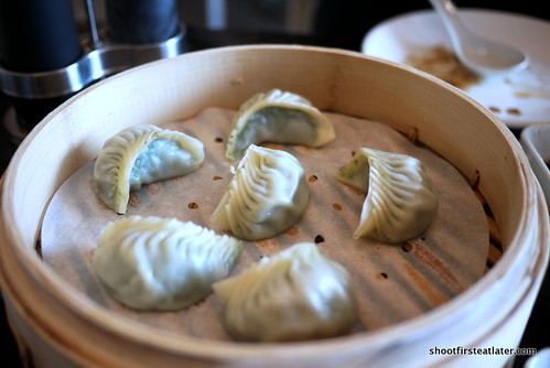 vegetable & pork dumplings