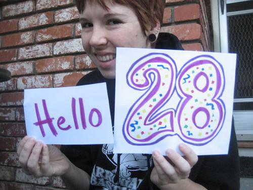 hello 28!