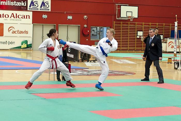 Íslandsmeistaramót fullorðinna í kumite 2010