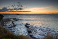 Muriwai sunset