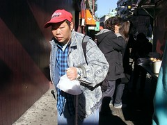 PasserBy (Street Witness) Tags: street nyc chinatown samsung pedestrian passerby shopper nv7