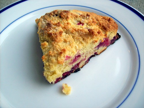 Grain Free Berry Scones