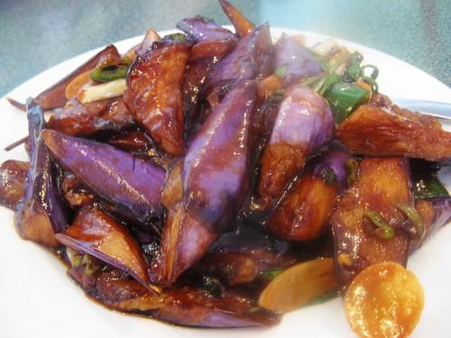 Eggplant with Basil Sauce
