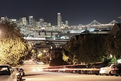 San Francisco (from Potrero Hill) (Petra Cross) Tags: sanfrancisco potrerohill
