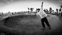 Skate or Die Dude! (Mike Chen aka Full Time Taekwondo Dad) Tags: california venice usa beach mike michael losangeles los die angeles or board sony wheels bowl fisheye skate venicebeach skater 28 alpha 16mm chen metalman skateordie a900 sal16f28