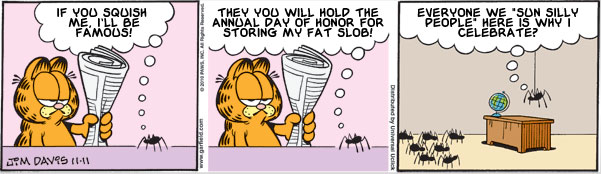 Garfield: Lost in Translation, November 11, 2010