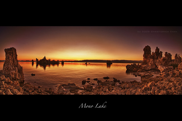 Mono Lake Panorama by Christopher Chan
